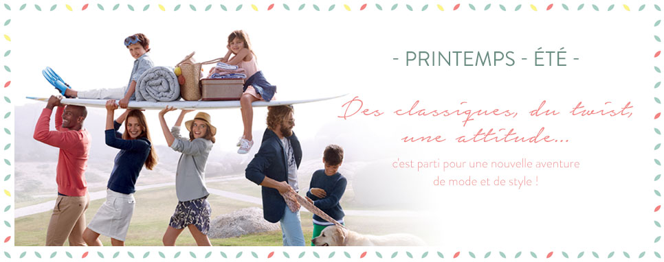 Nouvelle Collection Printemps-été
