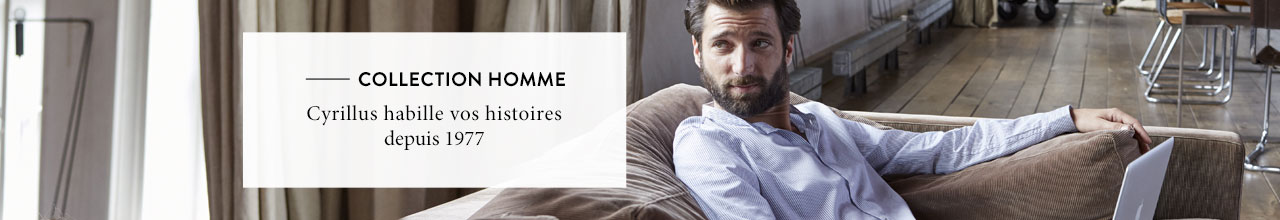 Collection Automne-Hiver homme